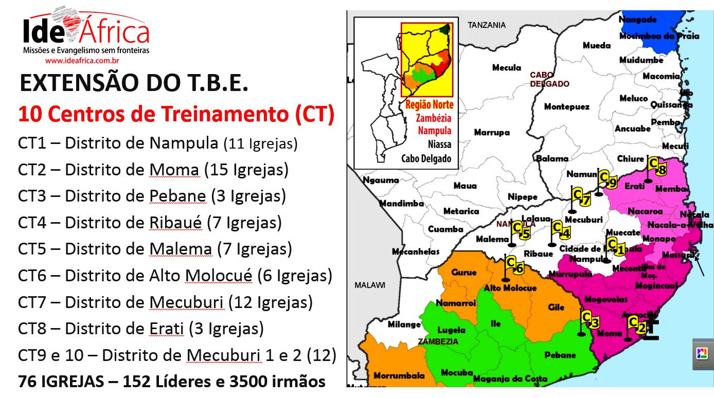 TBE (Treinamento Bíblico por Extensão) Ide Africa